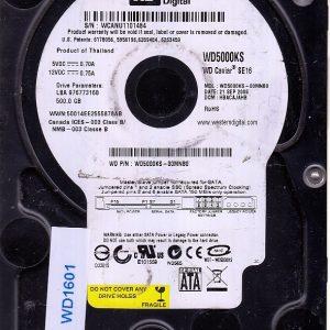 Western Digital WD5000KS-00MNB0 500GB