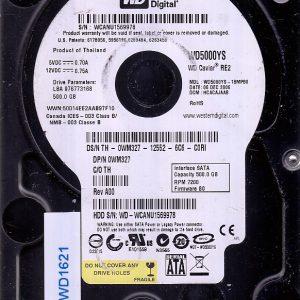 Western Digital WD5000YS-18MPB0 500GB