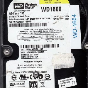 Western Digital WD-1600JS-55NCB1 160GB