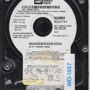 Western Digital WD5000KS-00MNB0 500GB