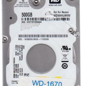 Western Digital WD5000LMVW-11VEDS0 500GB