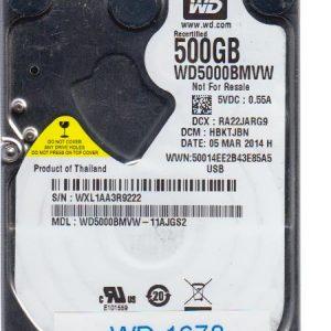 Western Digital WD5000BMVW-11AJGS2 500GB
