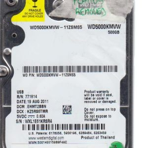 Western Digital WD5000KMVW-11ZSMS5 500GB