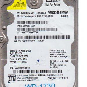 Western Digital WD5000BMVV-11A1CS0 500GB