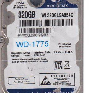 Western Digital WL320GLSA854G 320GB