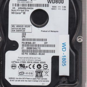 Western Digital WD800JD-60LSA0 80 GB