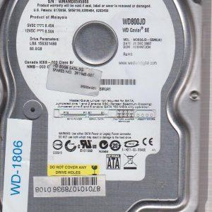 Western Digital WD800JD-55MUA1 80 GB