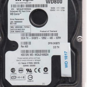Western Digital WD800BB 80 GB