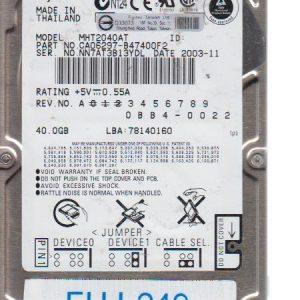 Fujitsu MHT2040AT 40 GB