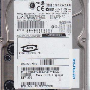 Fujitsu MAN3184MC 18.4 GB