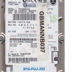 Fujitsu MHV2060AH 60 GB