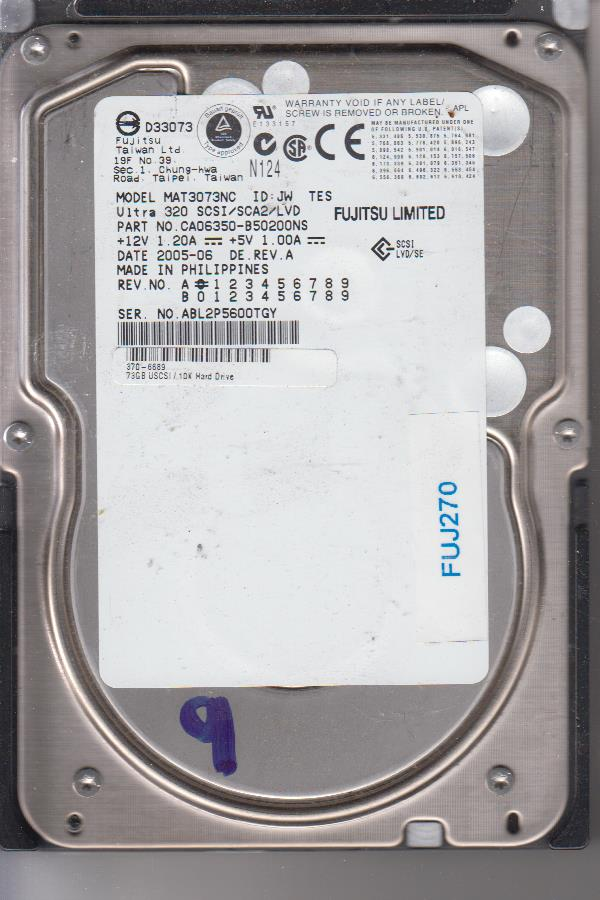 Fujitsu MAT3073NC 73GB