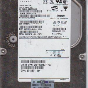 HP BF07288285 72.8 GB