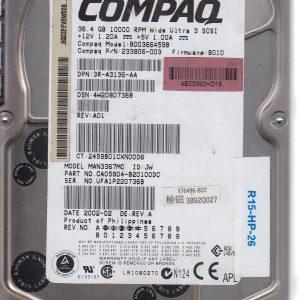HP BD0366459B 36.4 GB