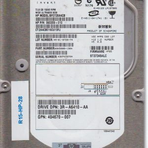 HP BF0728A4CB 72.8 GB