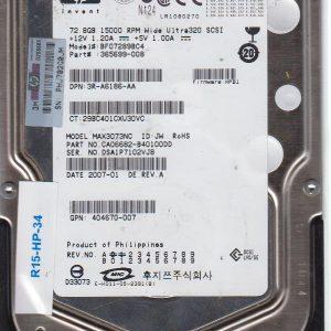 HP BF07289BC4 72.8 GB