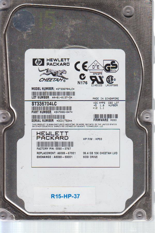 HP ST336704LC