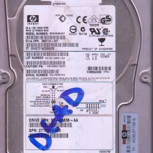 HP BD03695A27 36.4GB