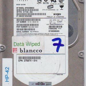 HP DF300BB6C3 300 GB