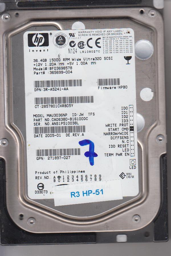 HP MAU3036NP 36.4GB