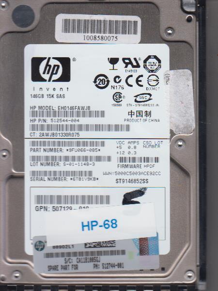 HP EH0146FAWJB 146GB