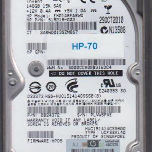 HP EH0146FARWD 146GB