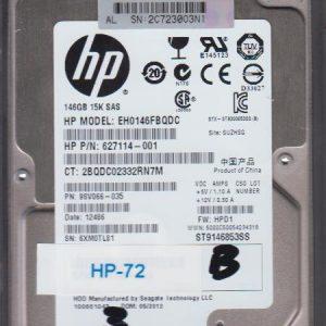 HP EH0146FBQDC 146GB
