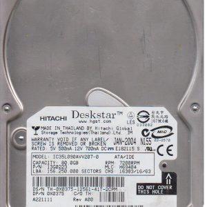 Hitachi IC35L090AVV207 80 GB
