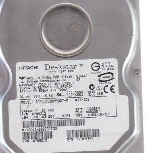 Hitachi IC35L060AVV207-0 61.4 GB