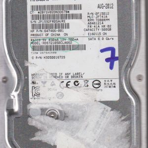Hitachi HDS721050CLA662 500GB