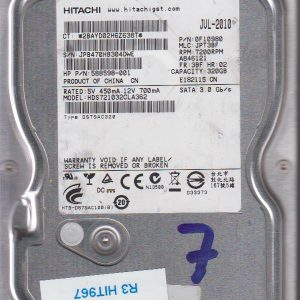 Hitachi HDS721032CLA362 320GB