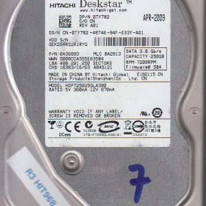 Hitachi HDP725025GLA380 250GB