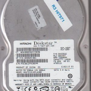 Hitachi HDS721616PLA380 160GB