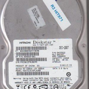Hitachi HDS721616PLA380 160GB