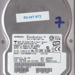 Hitachi HDS728080PLAT20 82.3GB