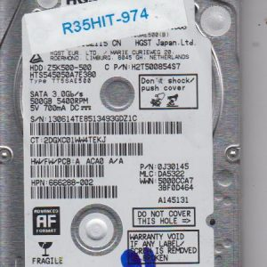Hitachi HTS545050A7E380 500GB
