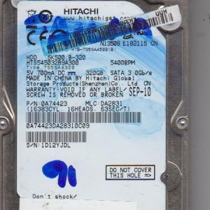 Hitachi HTS545032B9A300 320GB