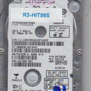 Hitachi HTS543232A7A384 320GB