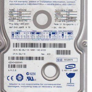 Maxtor 4D040H2 40 GB