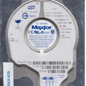 Maxtor 2F020L0 20 GB