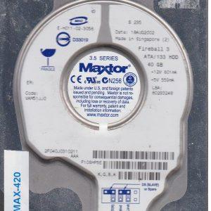 Maxtor 2F040J0 40 GB