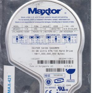 Maxtor 2B020H1 20 GB