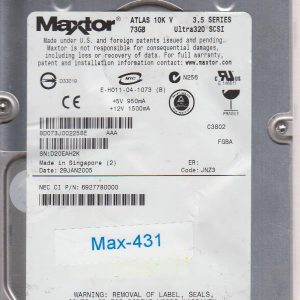 Maxtor Atlas 10K V 73GB