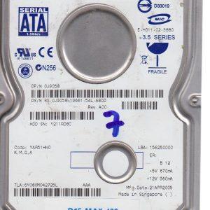 Maxtor 5Y080M042725L 80 GB