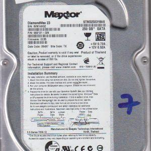 Maxtor STM3250318AS 250GB