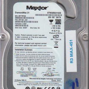 Maxtor STM3250310AS 250GB