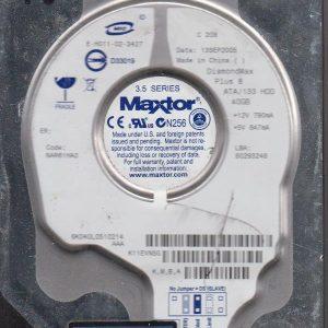 Maxtor 6K040L 40GB