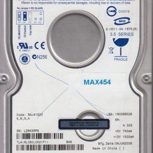 Maxtor 6L080L0 80GB