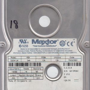 Maxtor 92041U4 20GB