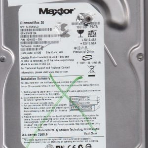Maxtor STM3160812A 160GB